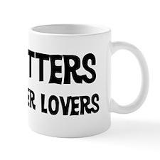 Tile Setters: Better Lovers Small Mug