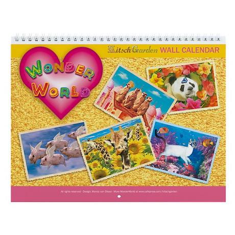 WonderWorld Wall Calendar