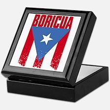Boricua Flag Keepsake Box