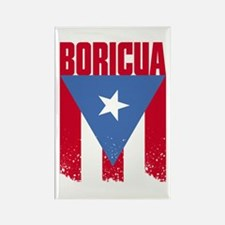 Boricua Flag Rectangle Magnet