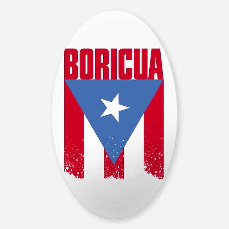 Boricua Flag Decal
