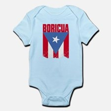 Boricua Flag Infant Bodysuit