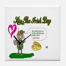 Saint Patrick's Day Tile Coaster