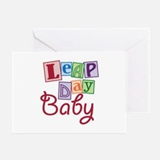 Leap Day Baby Greeting Card