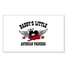 Daddy's Little Antiguan Princess Decal