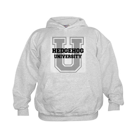 Hedgehog UNIVERSITY Kids Hoodie