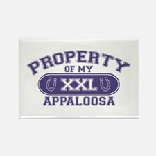 Appaloosa PROPERTY Rectangle Magnet