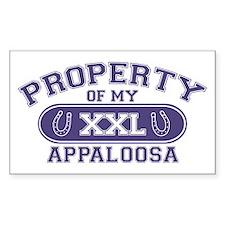 Appaloosa PROPERTY Decal