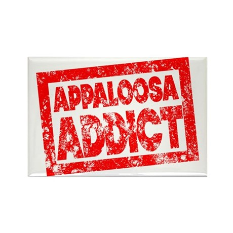 Appaloosa ADDICT Rectangle Magnet