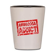 Appaloosa ADDICT Shot Glass