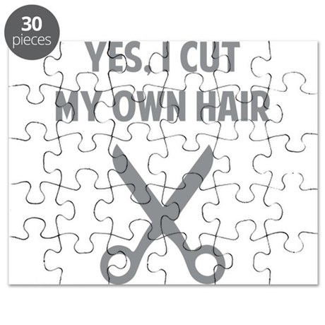 I Cut My Own Hair Puzzle