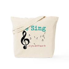 Chorus Tote Bag