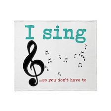 Chorus 2 Throw Blanket