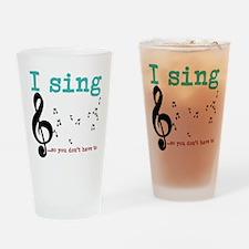 Chorus 2 Drinking Glass