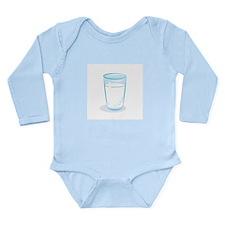 Milk and Cookies Long Sleeve Infant Bodysuit