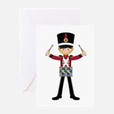 Nutcracker Soldier with Drum Greeting Card