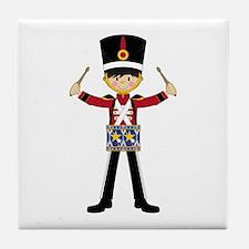 Nutcracker Soldier with Drum Tile Coaster