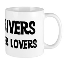 Taxi Drivers: Better Lovers Small Mug