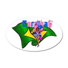 Brazil Carnival Wall Decal