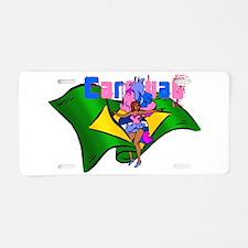 Brazil Carnival Aluminum License Plate