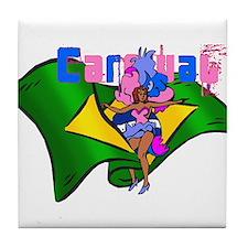 Brazil Carnival Tile Coaster