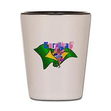 Brazil Carnival Shot Glass