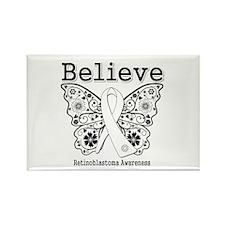 Believe - Retinoblastoma Rectangle Magnet