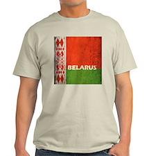 Belarus Grunge Flag T-Shirt