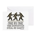 One By One The Sasquatch Greeting Cards (Pk of 20)
