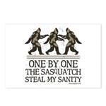 One By One The Sasquatch Postcards (Package of 8)