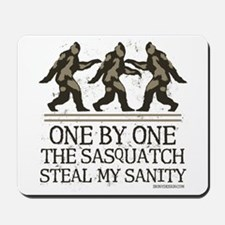 One By One The Sasquatch Mousepad