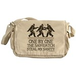 One By One The Sasquatch Messenger Bag