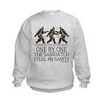 One By One The Sasquatch Kids Sweatshirt