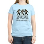 One By One The Sasquatch Women's Light T-Shirt