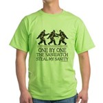 One By One The Sasquatch Green T-Shirt