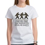 One By One The Sasquatch Women's T-Shirt