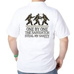 One By One The Sasquatch Golf Shirt