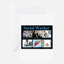 Social Worker Job Greeting Card