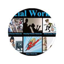 """Social Worker Job 3.5"""" Button"""