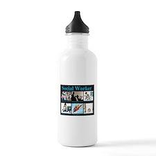 Social Worker Job Water Bottle