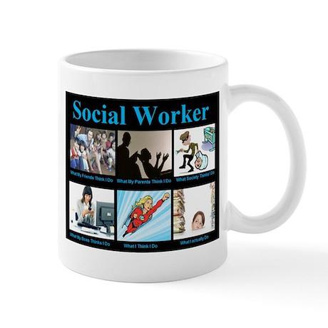 Social Worker Job Mug