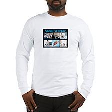 Social Worker Job Long Sleeve T-Shirt