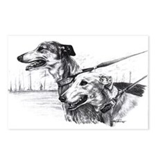Greyhounds Postcards (Package o