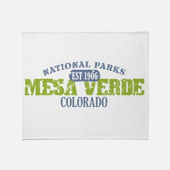 Mesa Verde Colorado Throw Blanket