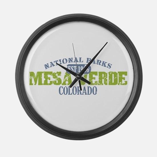 Mesa Verde Colorado Large Wall Clock