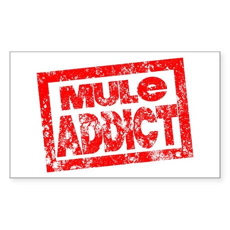 Mule ADDICT Sticker (Rectangle)