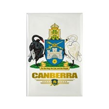 """Canberra"" Rectangle Magnet"