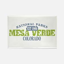Mesa Verde Colorado Rectangle Magnet (10 pack)
