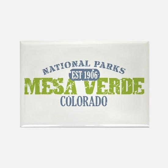 Mesa Verde Colorado Rectangle Magnet