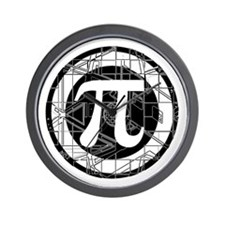 Pi Day Symbol Wall Clock